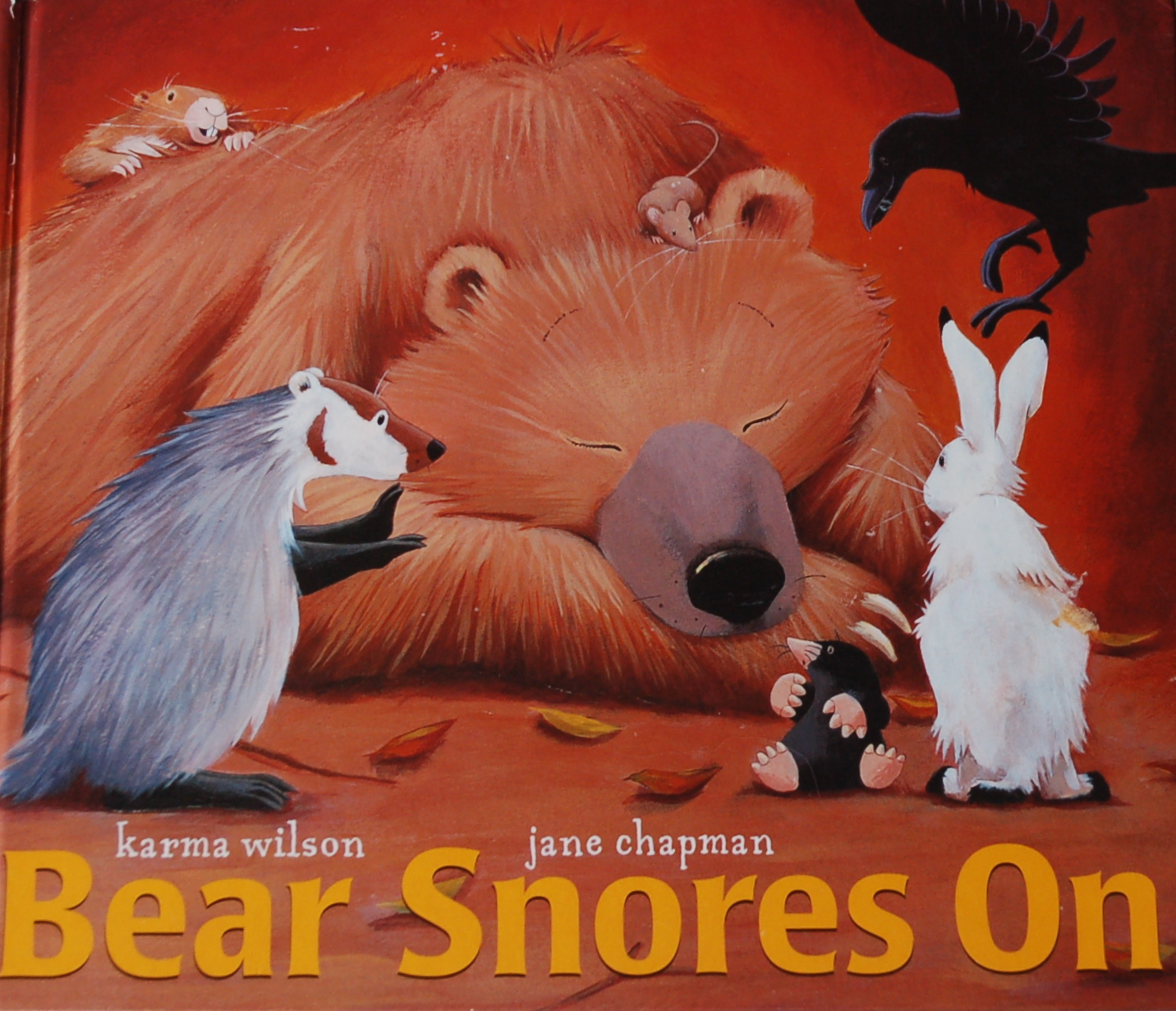 Bear Snores On-Best books for 3 year olds