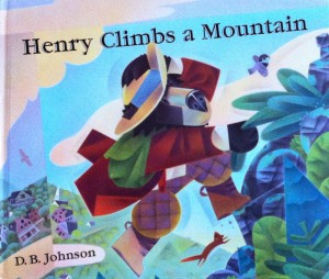 henry climbs mountain cover