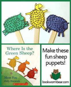 make sheep puppets