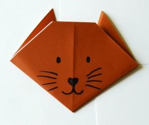 origami cat 9