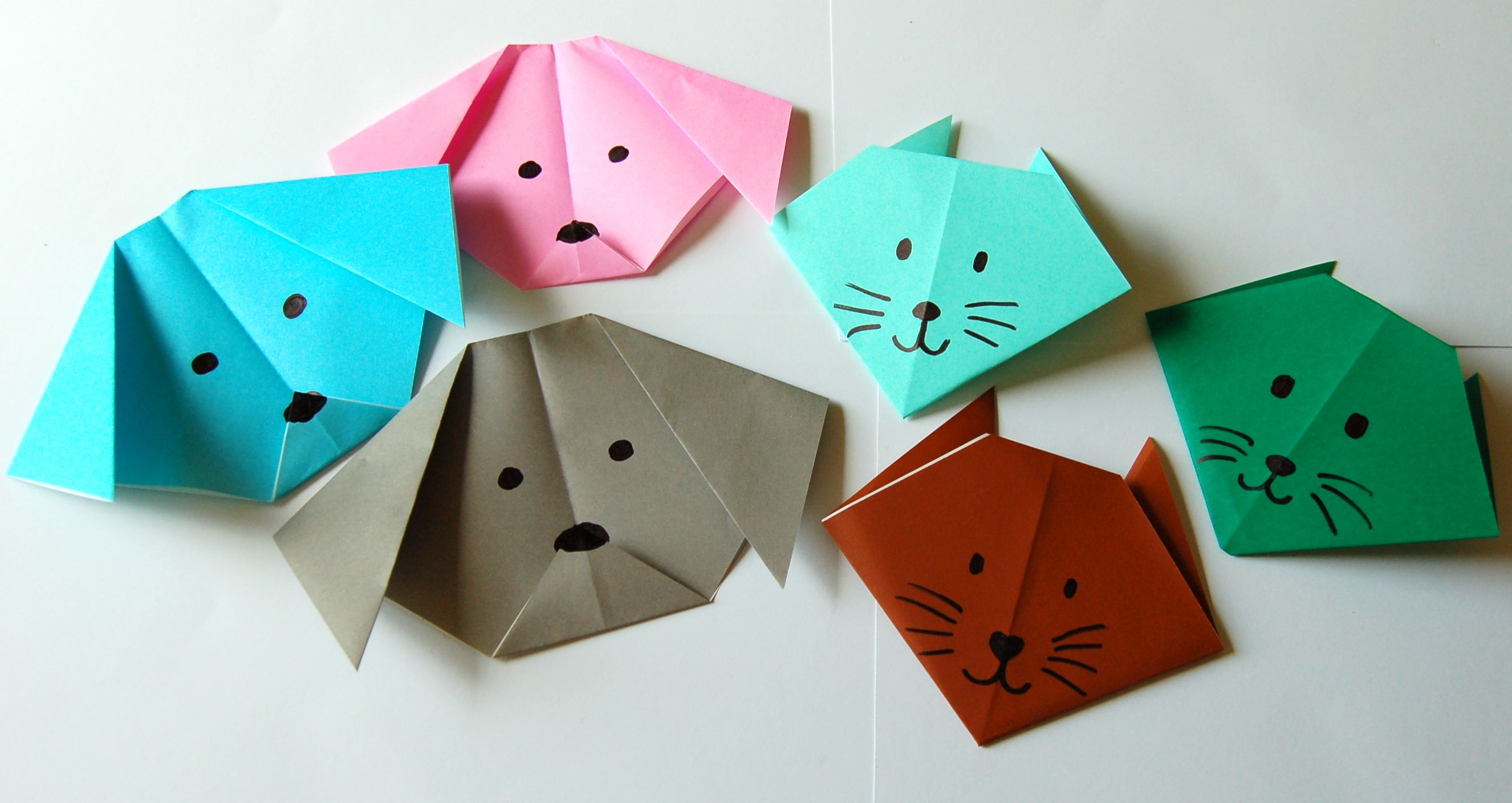 Yokos paper cranes bookworm bear origami cat and dog group jeuxipadfo Choice Image