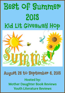 Best of Summer 2013 Kid Lit Giveaway Hop - Button